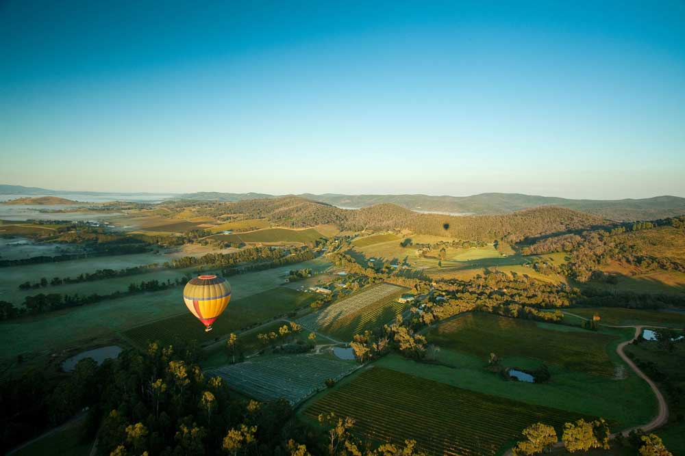 Hot Air Ballooning Yarra Valley